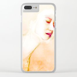 Disconnect Clear iPhone Case