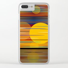 Colors Of A Sunset Clear iPhone Case