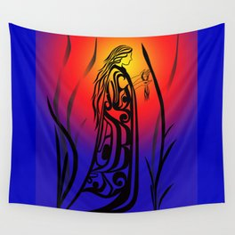 Medicine Woman Sunrise Wall Tapestry