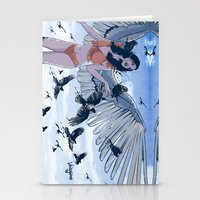 raven Stationery Cards featuring Raven by Radical Ink by JP Valderrama