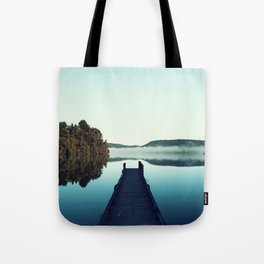 Gloomy dock Tote Bag