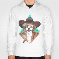 nerd Hoodies featuring Nerd by Andres Estrada