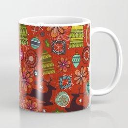 Joyous Jumble Rust Coffee Mug