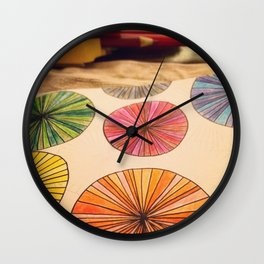 Pencil Me In Wall Clock