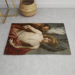 """Sir Anthony van Dyck """"Daedalus and Icarus"""" Rug"""