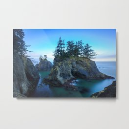 Tranquil sunrise from Oregon coast Metal Print