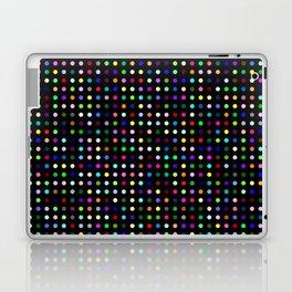 Big Hirst Polka Dot Black Laptop & iPad Skin