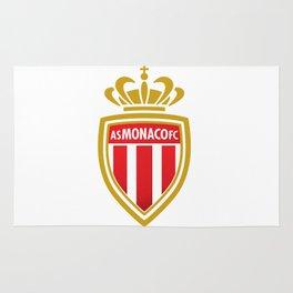 AS Monaco Logo Rug