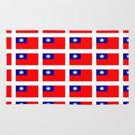 flag of taiwan -formosa,taipei,formosan,Taiwanese,hakka,matsu,台湾,臺灣. Rug