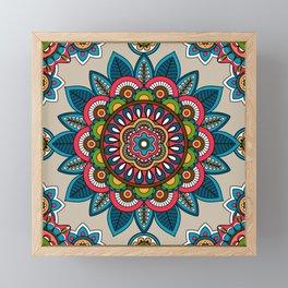 Indian Mandala Framed Mini Art Print