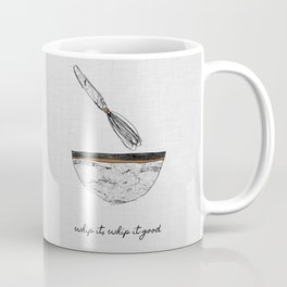Whip It Good, Music Quote Coffee Mug