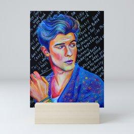 Shawn Stitches Shmendes Mini Art Print