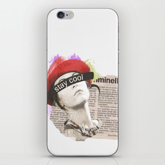Stay Cool  iPhone & iPod Skin
