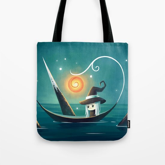 Little Witch 3 Tote Bag