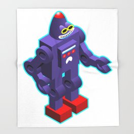 Robot Throw Blanket