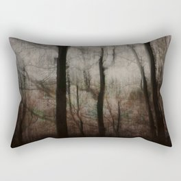 Darkness in the Forest Rectangular Pillow