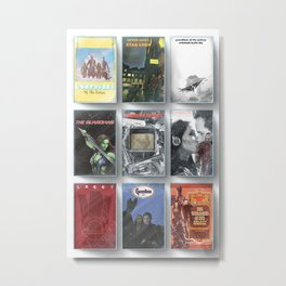 Awesome mix tape tapes Metal Print