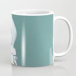 Luna holding Moonflowers Coffee Mug