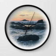 Road's End Wall Clock