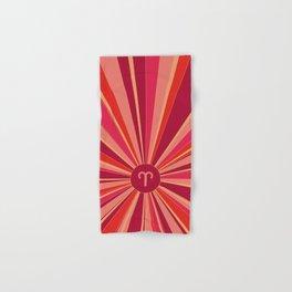Aries - Zodiac colors series Hand & Bath Towel