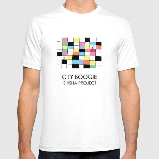 CITY BOOGIE  by ISHISHA PROJECT T-shirt