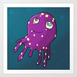Octopal Art Print