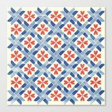 Mediterranean Mosaic Canvas Print