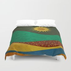 color under the sun (III) Duvet Cover