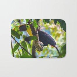 Toucan Corcovado National Park, Costa Rica Bath Mat