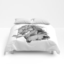 The King's Lost Knight Comforters