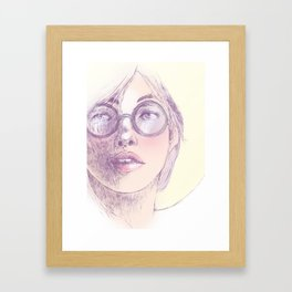 Softly Framed Art Print