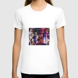 Abstract Overlay T-shirt