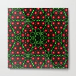 Christmas Patterns Metal Print