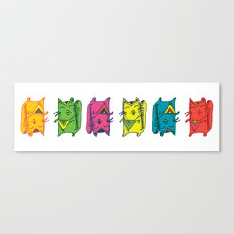 The Cats of the Swing  Canvas Print