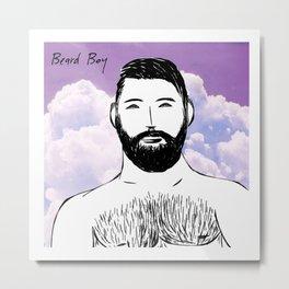 Beard Boy: Dario Metal Print