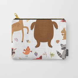 Forest Critters Carry-All Pouch