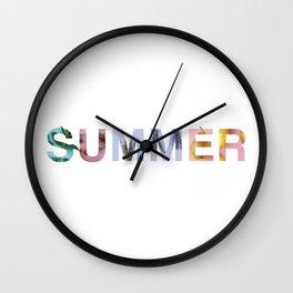 Summer! Wall Clock