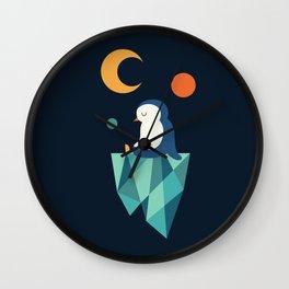 Private Corner Wall Clock
