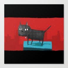 Mystical Cat Canvas Print