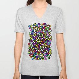 Bubble GUM Colorful Balls Unisex V-Neck