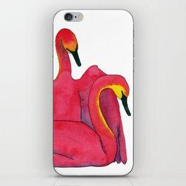 Tulip Swans iPhone Skin