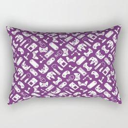 Control Your Game - Phlox Rectangular Pillow
