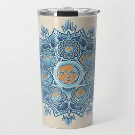 Alyson Anahata Seven Chakra Sun Flower Mandala 1 Travel Mug