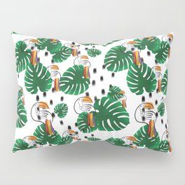 PARROT IN TROPIC PARADISE Pillow Sham