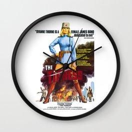 Tigress Wall Clock