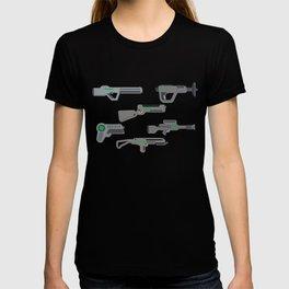Futuristic Laser Guns T-shirt