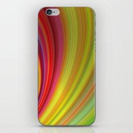 Vivid space iPhone Skin