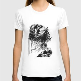 Edouard Manet - The raven by Poe 3 T-shirt
