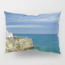 Chapel on the cliffs, Portugal Pillow Sham