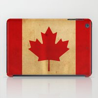canada iPad Cases featuring Canada by NicoWriter